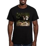 Wild Turkey Men's Fitted T-Shirt (dark)