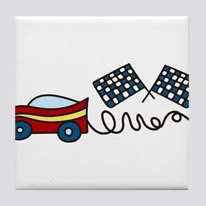Car Tile Coaster