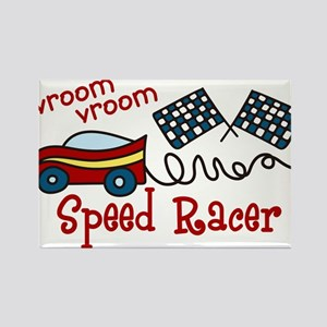 Speed Racer Rectangle Magnet