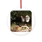 Wild Turkey Ornament (Round)
