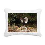 Wild Turkey Rectangular Canvas Pillow