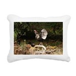 Wild Turkey Rectangular Canvas Pillow