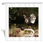 Wild Turkey Shower Curtain