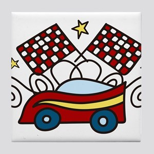 Race Car Tile Coaster