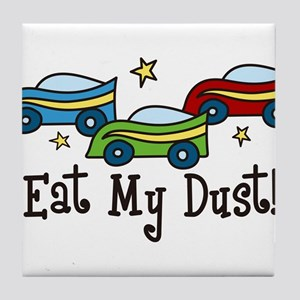 Eat My Dust Tile Coaster