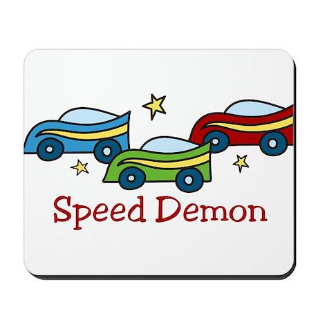 Speed Demon Mousepad