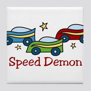 Speed Demon Tile Coaster