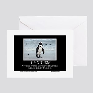 Cynicism Greeting Cards