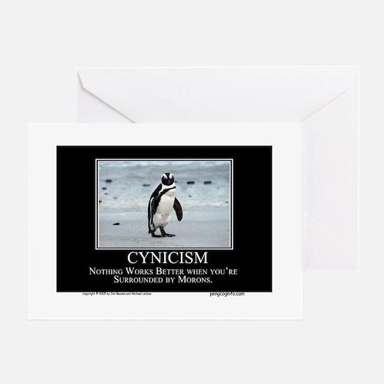 Cynicism Greeting Cards
