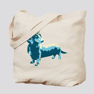 Dachshund Pop Art dog Tote Bag