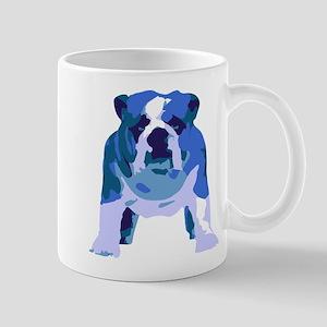 English Bulldog Pop Art Mug