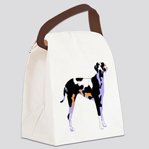 GreatDane Pop Art Canvas Lunch Bag