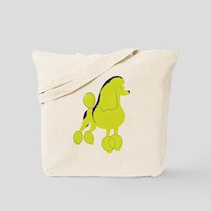 Poodle Pop Art dog Tote Bag