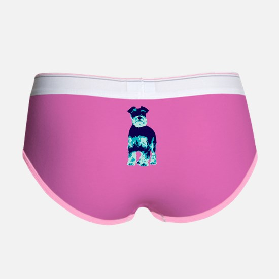 Schnauzer Pop Art dog Women's Boy Brief