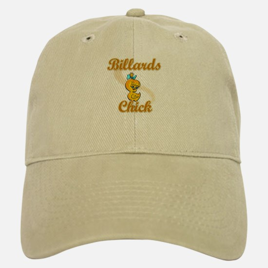 Billards Chick #2 Baseball Baseball Cap