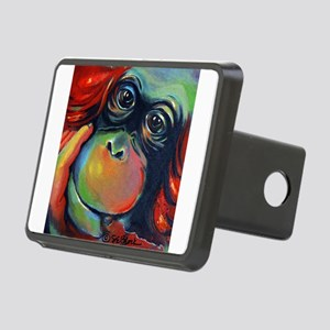 Orangutan Sam Rectangular Hitch Cover