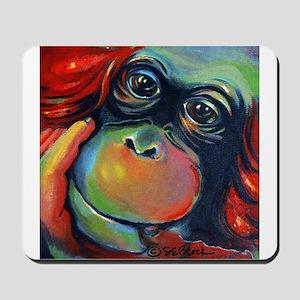 Orangutan Sam Mousepad