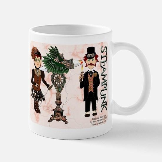 Marijuana Munchkins SteamPunk Mug