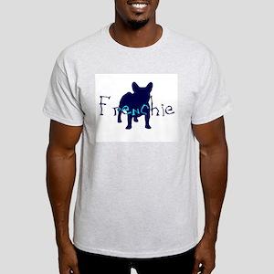 Frenchie Craze Ash Grey T-Shirt