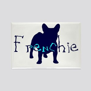 Frenchie Craze Rectangle Magnet