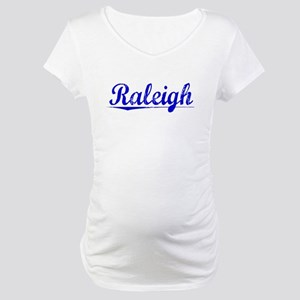 Raleigh, Blue, Aged Maternity T-Shirt