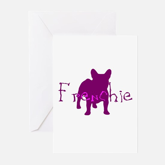 Frenchie Craze Greeting Cards (Pk of 10)