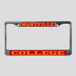 Maryville College License Plate Frame