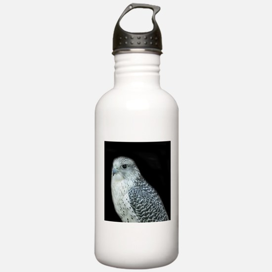 GyrFalcon out on the town Water Bottle