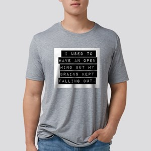 I Used To Have An Open Mind Mens Tri-blend T-Shirt