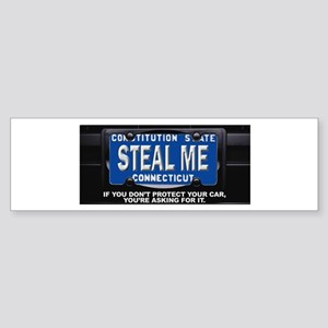 Steal My Conneticut Car Sticker (Bumper)