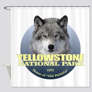 Yellowstone NP Shower Curtain