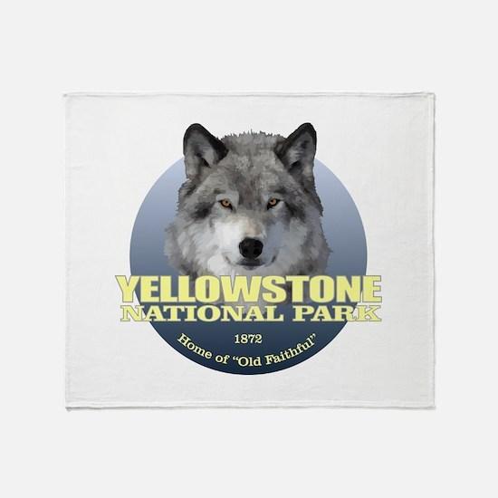 Yellowstone NP Throw Blanket
