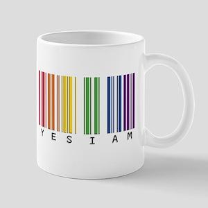 gay pride barcode Mug