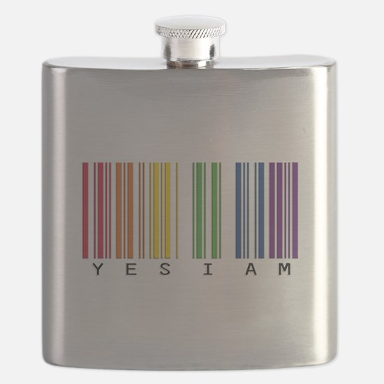 gay pride barcode Flask