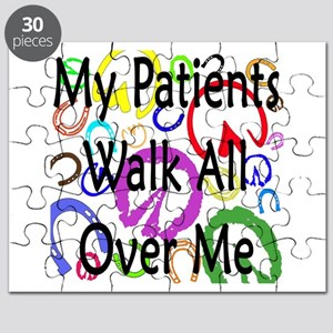 My Patients Walk All Over Me (Horse Hooves) Puzzle
