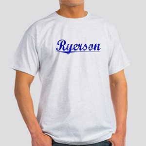Ryerson, Blue, Aged Light T-Shirt