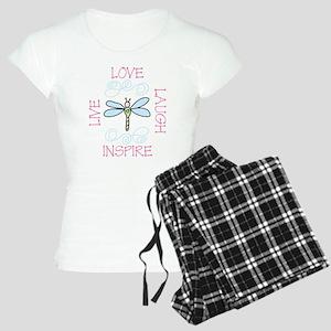 Live Love Laugh Women's Light Pajamas