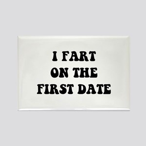 Fart On First Date Rectangle Magnet (10 pack)