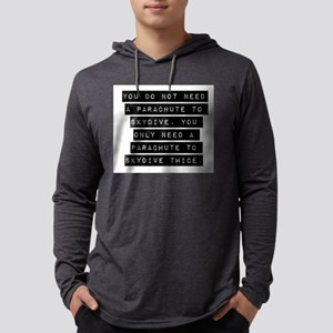 You Do Not Need A Parachute Mens Hooded Shirt