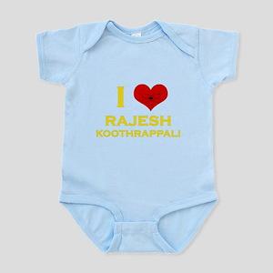 I Heart Rajesh Koothrappali Infant Bodysuit