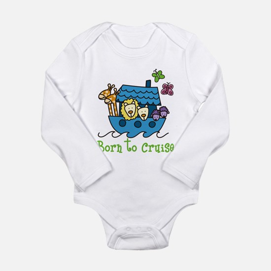 Born To Cruise Long Sleeve Infant Bodysuit