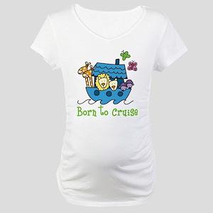 Born To Cruise Maternity T-Shirt