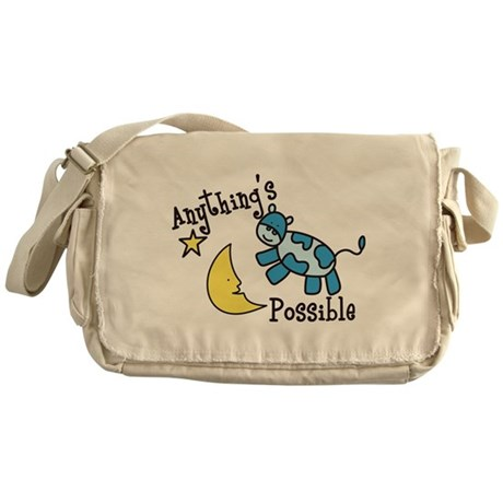 Anythings Possible Messenger Bag
