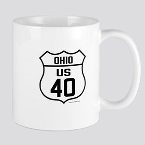 US Route 40 - Ohio Mug