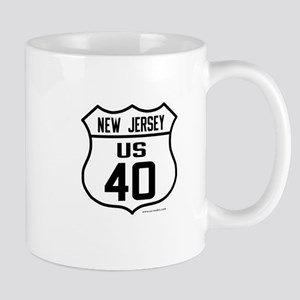 US Route 40 - New Jersey Mug