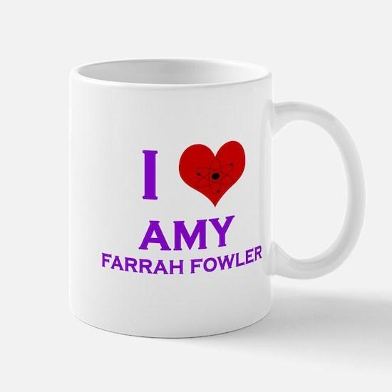 I Heart Amy Farrah Fowler Mug