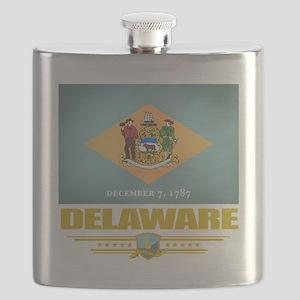 Delaware (Flag 10) Flask