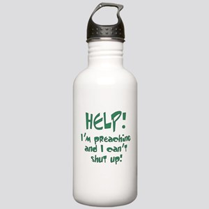 Help! I'm Preaching Stainless Water Bottle 1.0L