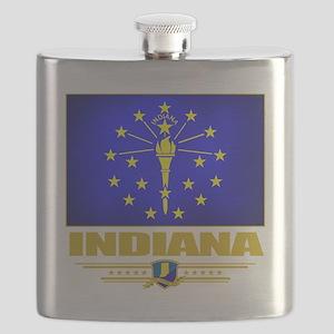 Indiana (Flag 10) Flask