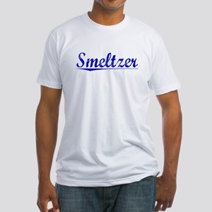 Smeltzer, Blue, Aged Fitted T-Shirt